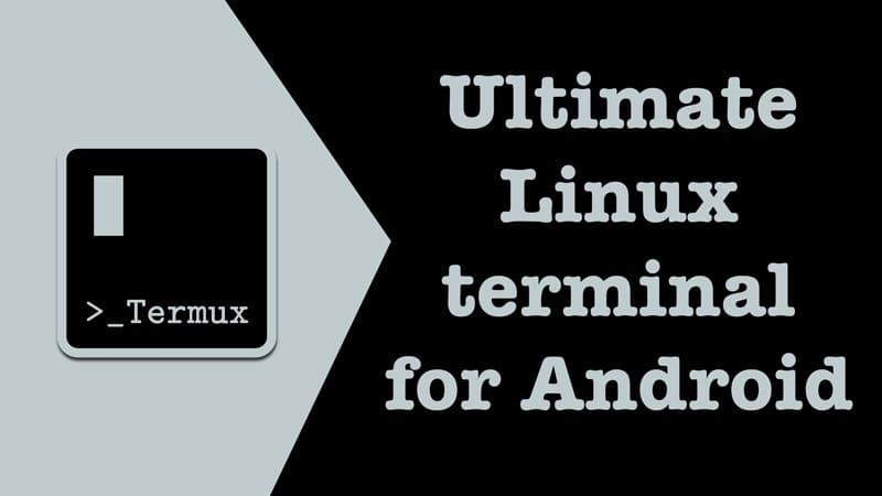 Termux - ultimate Linux terminal emulator for Android