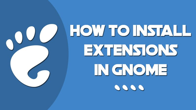 How to install extensions in Gnome - Linuxh2o