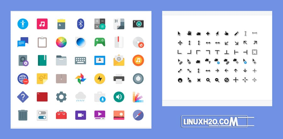 Paper icon pack for linux
