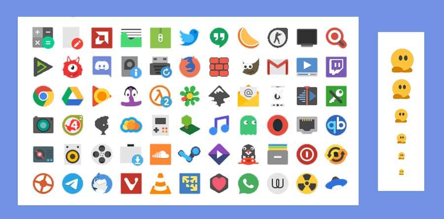 Papirus icon pack for linux