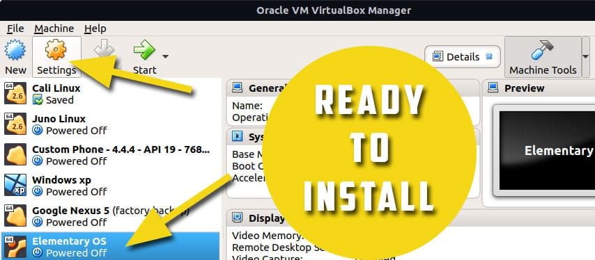 setting up iso file in virtual host