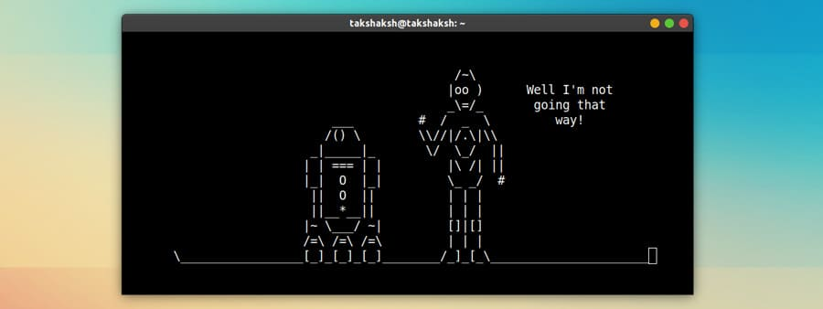 Star wars movie on terminal in linux