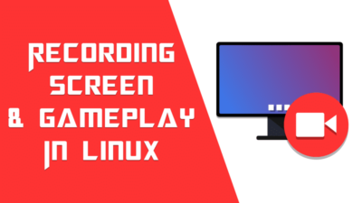 How to record screen and live stream in Linux