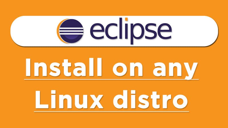 How to install eclipse on Linux 2020