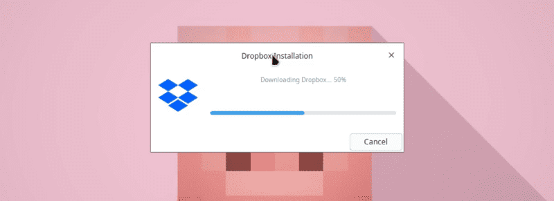 Downloading dropbox daemon