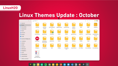 Linux October themes update