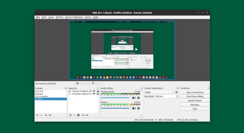 OBS Studio for Linux